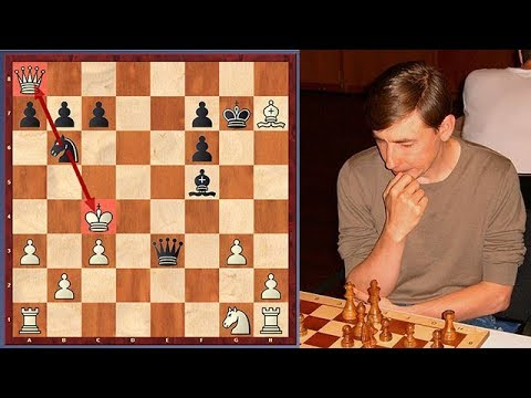 Bareev's Immortal King Hunt Against Topalov