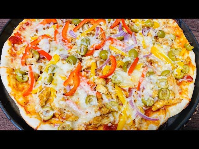 How to make Homemade Pizza ቆንጆና ቀላል ፒዛ አሰራር- Bahlie tube