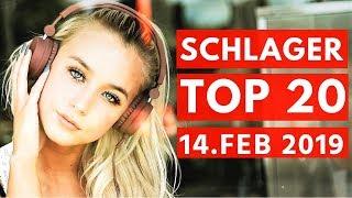 SCHLAGER CHARTS 2019 - Die TOP 20 vom 14. Februar