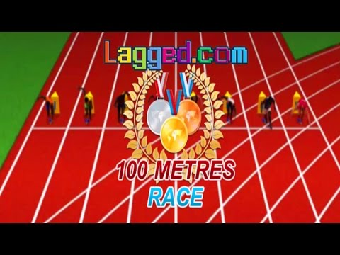 100 Meters Race - Online Olympic Games