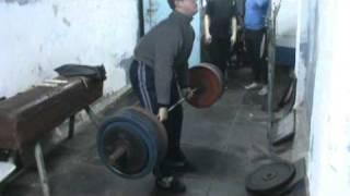 200 кг в 15 лет  ( без тренировок) - Метатель молота