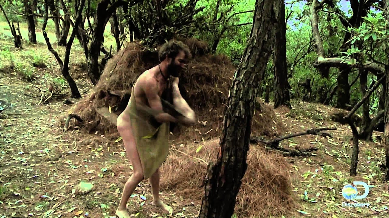 Opinion you Butt naked and afraid like