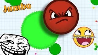 Agar.io - TROLLING PEOPLE IN AGARIO