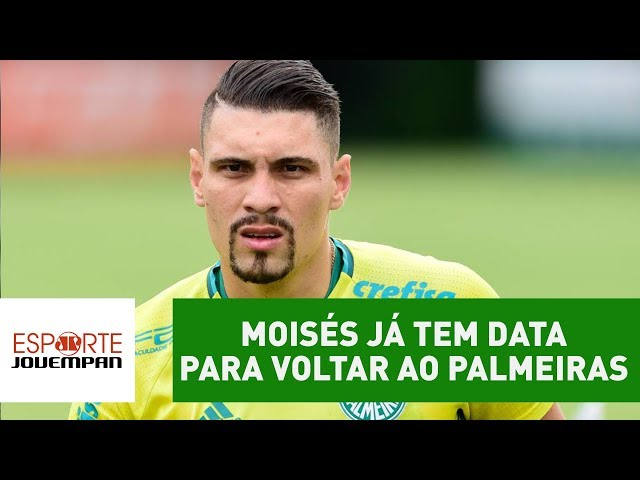 Moisés já tem data para VOLTAR ao Palmeiras. SAIBA qual!