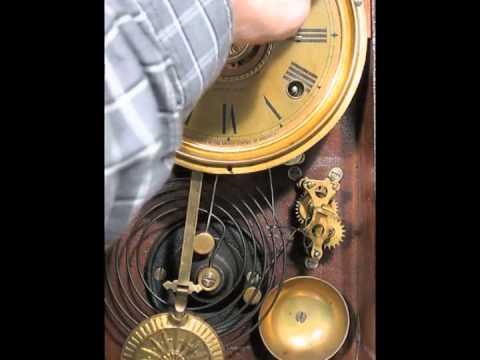Striking And Alarm Of Seth Thomas Oak Kitchen Clock Youtube