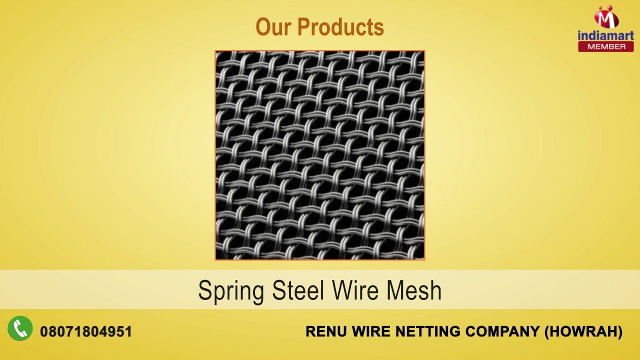 Wire Product By Renu Wire Netting Company, Howrah - YouTube