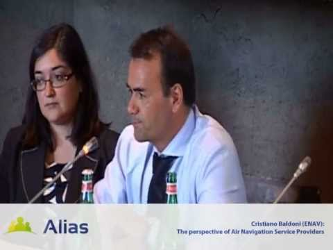 Cristiano Baldoni - The perspective of Air Navigation Service Providers (First ALIAS Conference)