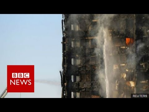 "London Fire: ""There were people screaming for help"" - BBC News"