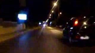 Lancia Y10 Turbo acceleration