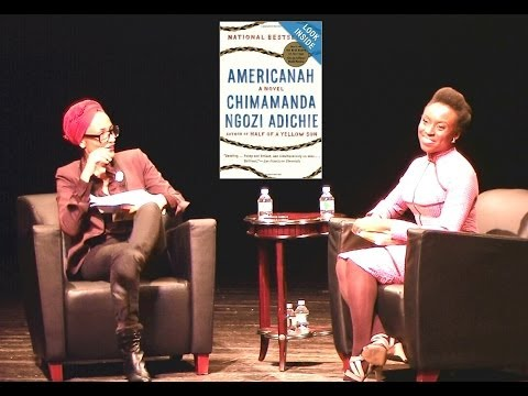 Chimamanda Ngozi Adichie with Zadie Smith
