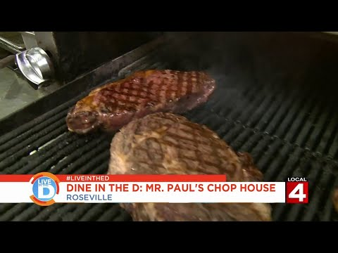 Live In The D: Dine In The D - Mr. Paul's Chop House