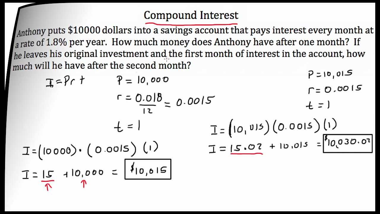worksheet Compound Interest Worksheets copy of compound interest lessons tes teach interest