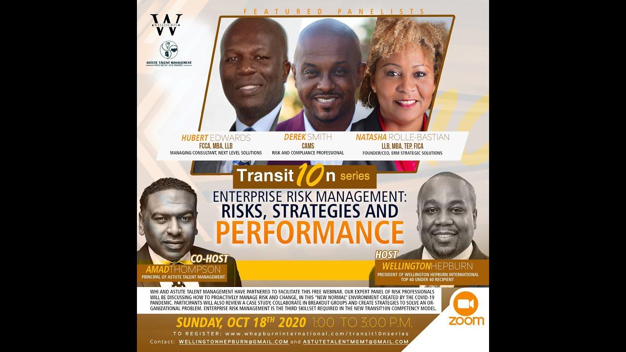 WHI Transit10n Series - Enterprise Risk Mgmt: Risk, Strategies, Performance Webinar (Oct 18 2020)