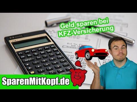 Geld Sparen Bei Der KFZ-Versicherung Mit Diesen Tipps I Sparenmitkopf