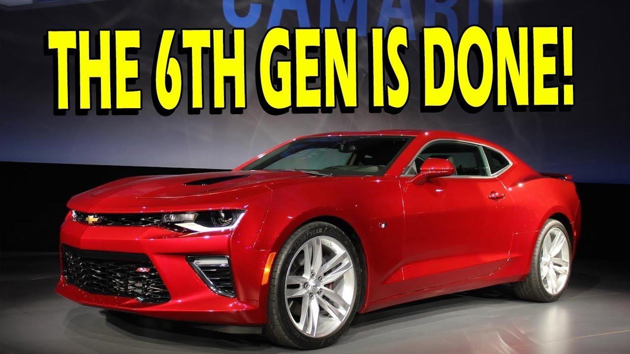 No New 6th Gen Camaros But Camaro 1se 1lz Gm Codes