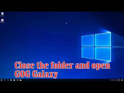 FIX GOG Galaxy FAILED TO LOAD GAME DATABASE. ERROR - QUICK AND EASY!