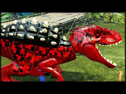LEGO Jurassic World - BLITZ-REX & Purple Mystery DINOSAURS!