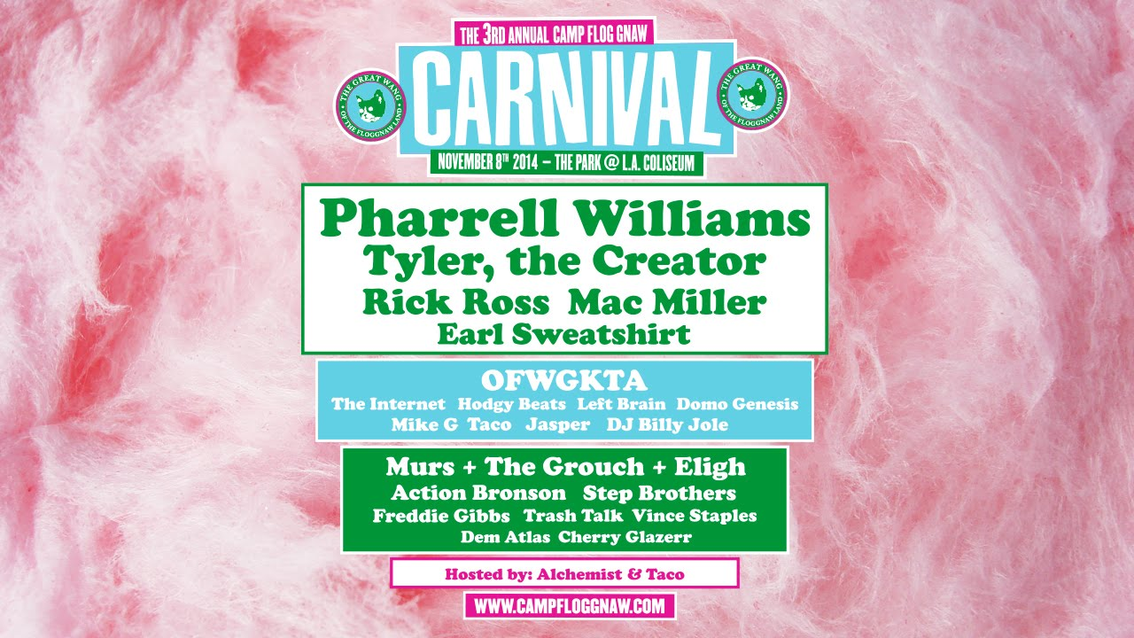 Watch Hodgy S New Video Camp Flog Gnaw Carnival 2014 - Youtube