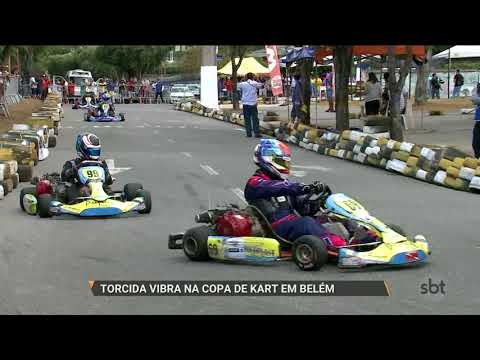 SBT PARÁ (11.12.17) Torcida vibra na primeira Copa Kart em Belém