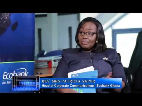 A CONVERSATION WITH REV. MRS PATRICIA SAPPOR HEAD OF CORPORATE COMMUNICATION ECOBANK GHANA