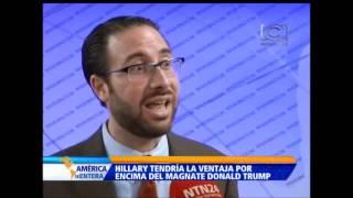 Encuesta revela que Hilary Clinton es  favorita para las elecciones de 2016