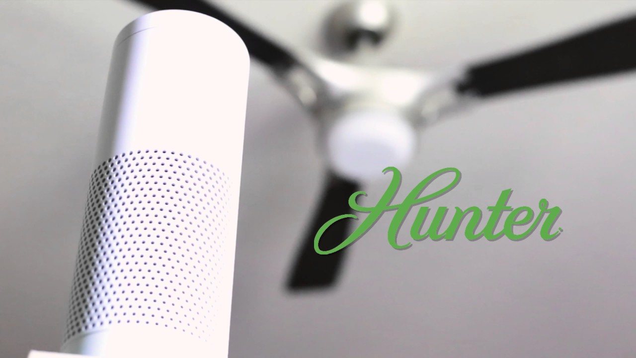 Hunter Simpleconnect Ceiling Fans Integration With Amazon Alexa