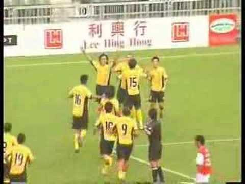 Hong Kong league, Xiangxue Sun Hei vs. South China