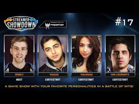 Streamer Showdown #17 - LoL Edition (feat. Pokimane, Yassuo, IWillDominate, & MarkZ)
