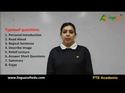 Introduction to PTE-Academic