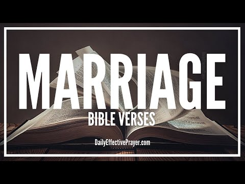 Bible Verses On Marriage - Scriptures For Married Couples (Audio Bible)