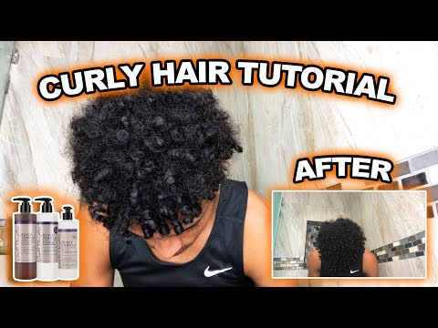 Curly Hair Tutorial | 7 FAST STEPS !!