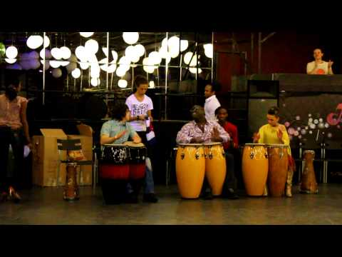 AFRO-CUBAN DANCE Weekend. Rumba solar. Part 3