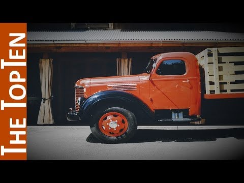 The Top Ten Coolest Old Trucks