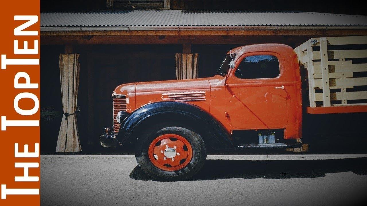 The Top Ten Coolest Old Trucks - YouTube