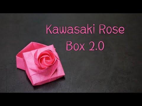 Origami Tutorial: Kawasaki Rose Box 2.0 (Du Xiaokang)|Hello Malinda