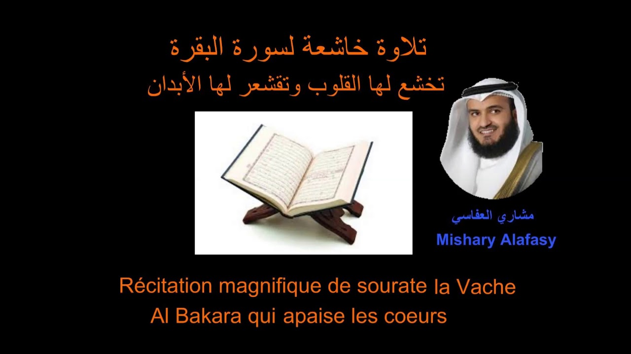 sourate al baqara alafasy