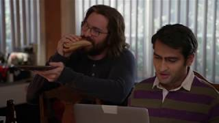 Silicon Valley - Is that one actually a hot dog?