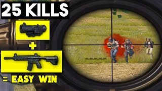 WHY YOU ALWAYS PUT 6x ON M4 | 25 KILLS SOLO vs SQUADS | PUBG Mobile 🐼
