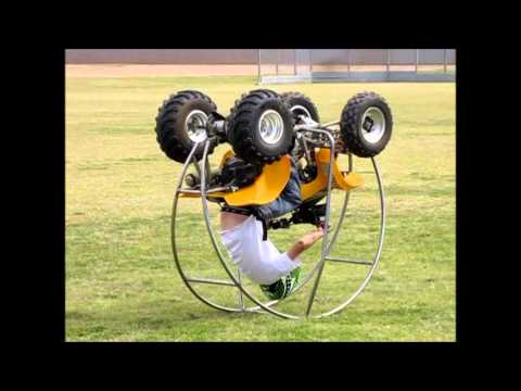 "Motorcycle, ""Quad"" Hamster Wheel"