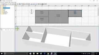 การใช้โปรแกรม Sweet Home 3D   (เบื้องต้น)