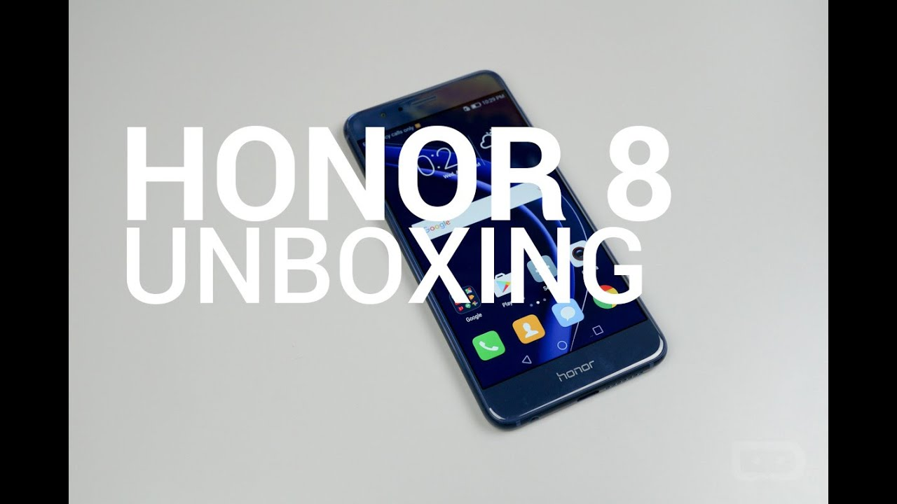 video honor unboxing droid life