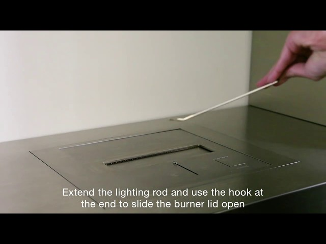 How to Light your BK Series Burner
