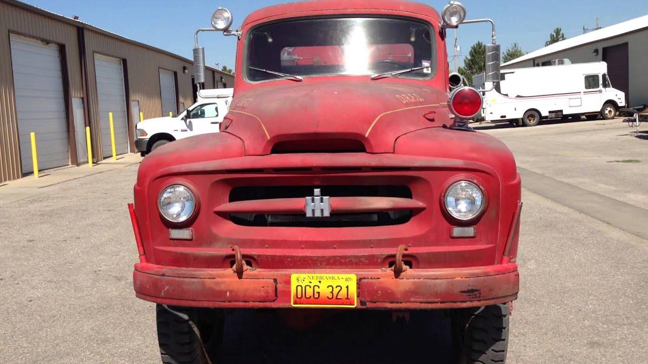 1955 International R-160 4X4 Fire Truck Firetruck - YouTube