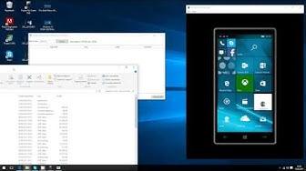 Android-Apps auf Windows 10 Smartphones installieren (einfache Methode )