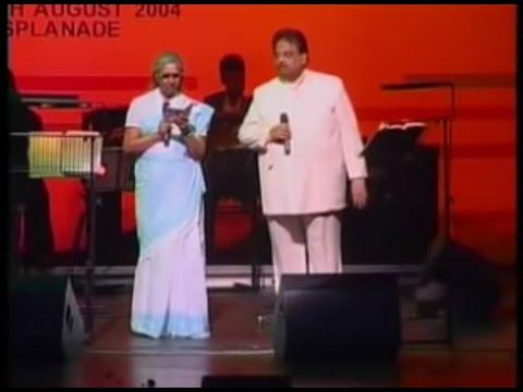 Adiye Manam Nilluna Nikkadhadi Live By Smt. S. Janaki & S P B
