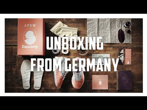 Unboxing From Germany + Trip To Thrift Pickups Vlog!