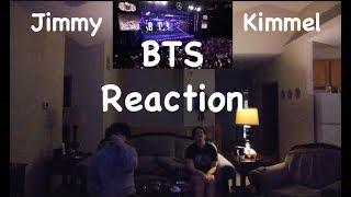 BTS Jimmy Kimmel Reaction
