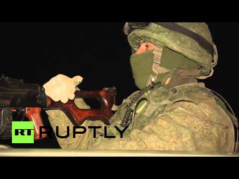 Russia: Ukrainian airborne troops leave Crimean base