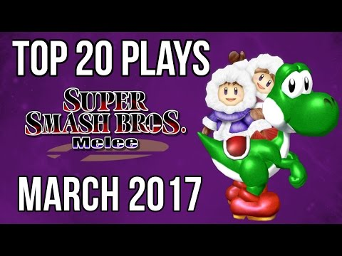 Top 20 SSBM Plays of March 2017 - Super Smash Bros Melee