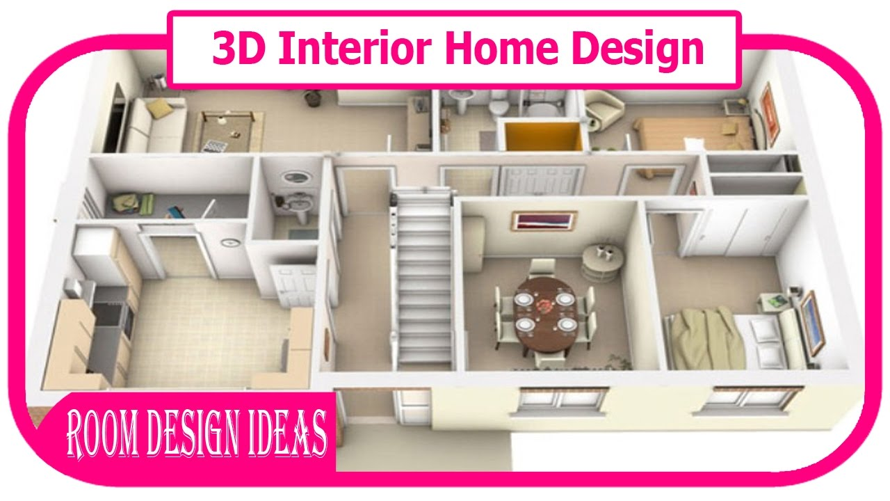 3D Interior Home Design - 3D Interior Design | 3D Interior Rendering ...